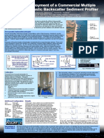 A Coastal Deployment of a Commercial Multiple Frequency Acoustic Backscatter Sediment Profiler