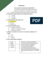 Cuestionario Interciclo