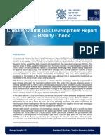 Chinas Natural Gas Development Report