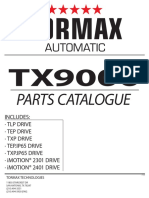 TORMAX-TX9000-PARTS-CATALOG