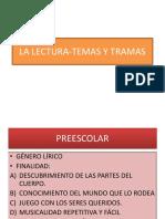 LA LECTURA-TEMAS Y TRAMAS.pptx