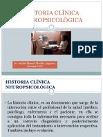 Historia Clínica Neuropsicológica Definicion Estructura