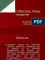 1. Derecho Procesal Penal. Conceptos Generales y Principios
