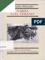 Narda y el Verano, de Salvador Elizondo