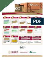 Conalep Estado de México calendario 2019-2020