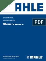 Mahle Catalogo Aplicação Jogos Anéis de Pistão 2019_2020