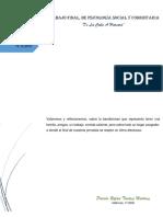TRABAJO FINAL DE PSICOLOGIA SOCIAL Y COMUNITARIA.