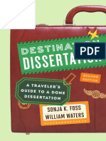 Destination Dissertation a travler guide