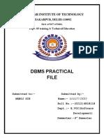 DBMS FILE