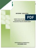 Analisis de Informe Det.molecular