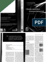 Cap 11 - Apresentação Do Clínico o Contrato e a Estrutura Dos Encontros Iniciais