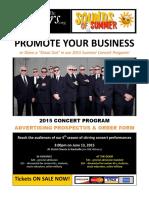 2015 NSI Concert Program Advertising Prospectus & Order Form (1)