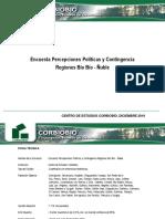 Encuesta Percepciones Políticas y Contingencia, diciembre 2019