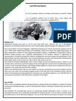 Autocad Lab Report