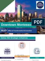 Downtown Montessori Board Briefing Deck