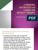 A primeira entrevista na clinica em Gestalt-terapia - Copia