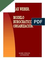 -Teorias de Weber