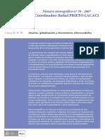 Alberich Tomas – Asociaciones y Movimientos Sociales en España 2007