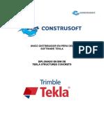Tekla Concreto - Rbd