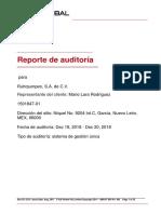 Reporte de Auditoría - Vigilancia 1