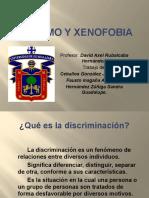 racismo y xenofobia  Presentación