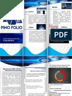 Diseño del Brochure Pino Folio Versión 1.0 copia