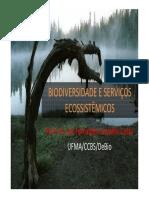 Biodiversidade e serviços ecosistemicos