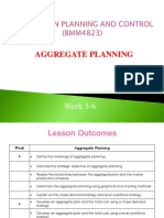 WK#5 Aggregate Planning1