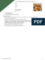Receita de Pão de Queijo Vegano - Prático e Muito Simples - Blog Paveg