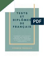 Tests Diplomes de Francais