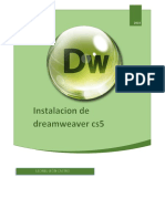 Instalacion de Dreamweaber CS5