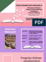 RESUME BUKU MAGANG III - SILVIA.K.pptx