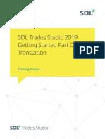 SDL Trados Studio Getting Started Part 1 sp1