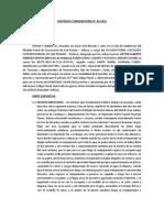 MODELO DE SENTENCIA CONDENATORIA