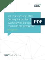 SDL Trados Studio Getting Started Part 2 sp1