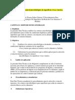 Criterios para el control microbiológico de superficies vivas e inertes