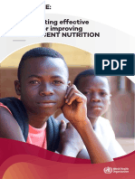 WHO_Guidelines_Implementing effective actions for improving adolescent nutrition