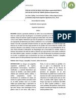 Informe de laboratorio de epidemiologia