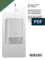 ARISTON Manuale Tecnico Caldaia Murale Gas T2 23 MI