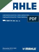 Mahle Lista Aplicações Motor e Turbinas 2019_2020