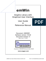 UM03001 EmWin Book Graphical Interface