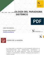 SEMANA 1 - LA EPISTEMOLOGÍA DEL PARADIGMA SISTÉMICO.pdf