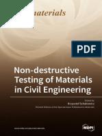 Non-Destructive Testing of Materials in Civil Engineering