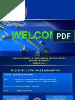 Ph.D Viva -final