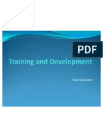 Unit 1 Training and Development Introduction