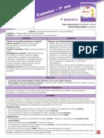 Espanhol - 1º ano. Recursos. Orientações Pedagógicas