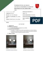 Ley de Ohm Inform Completo.