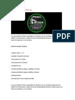 Especificaciones Balines Fox