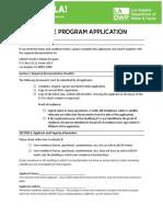 Used EV Program Application 03-27-18