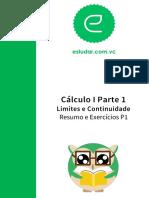 Cálculo I Resumo P1 Parte 1.1